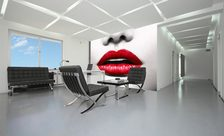 The-red-lips-office-wall-murals-demur