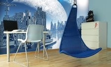 3-dimensiality-in-blue-outer-space-wall-murals-demur