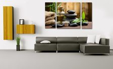 Spa-time-living-room-wall-prints-demur