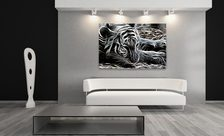 Attention-a-living-room-tiger-living-room-wall-prints-demur