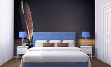 Made-with-feather-and-coal-bedroom-wall-murals-demur