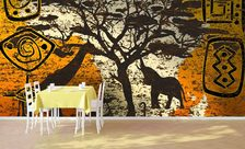 A-tasty-looking-patchwork-cafe-wall-murals-demur
