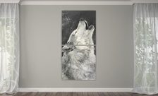 The-howling-wolf-animals-wall-prints-demur