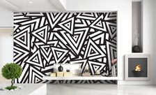 Crazy-triangles-black-and-white-wall-murals-demur