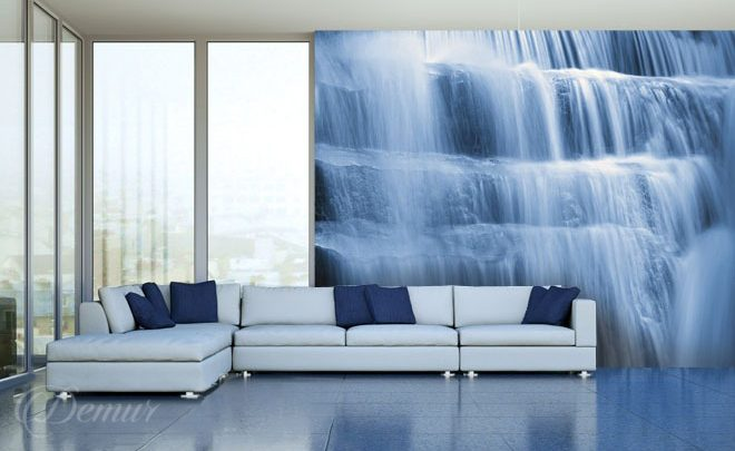 A-waterfall-in-a-light-blue-shade-waterfall-wallpapers-demur
