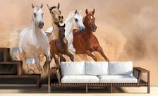 Where-are-they-rushing-animal-wall-murals-demur