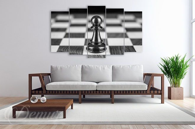 Checkmate-black-and-white-canvas-prints-demur