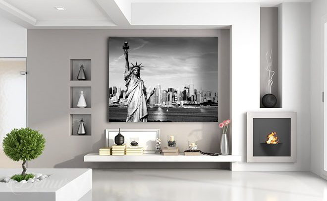 The-new-york-maid-black-and-white-wall-prints-demur