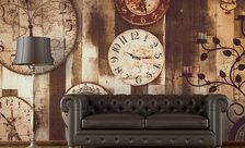 Retro-clocks-sepia-wall-murals-demur