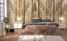 Painted-in-wood-pastel-color-wall-murals-demur