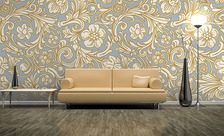 A-flowery-patter-classic-style-wall-murals-demur