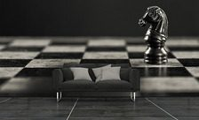 Checkmate-black-and-white-wall-murals-demur
