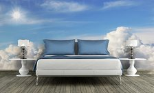The-sun-over-a-cloud-sky-wall-murals-demur