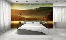 A-mountain-lake-in-the-morning-bedroom-wall-murals-demur