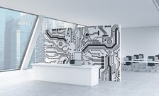 Integrated-circuit-office-wall-murals-demur