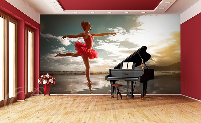 In-the-classical-red-dance-school-wallpapers-demur