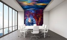Cosmically-colourful-arrangement-outer-space-wall-murals-demur