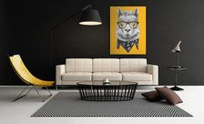 Llama-in-the-yellowness-animals-wall-prints-demur