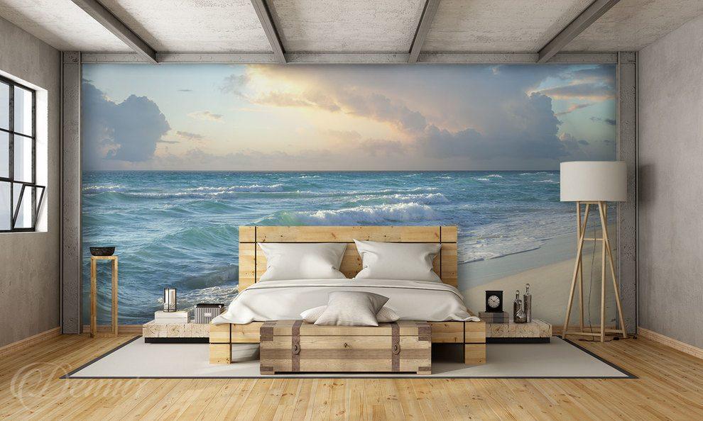 Sea tales On a wave of a dream Bedroom Wall Murals Demur