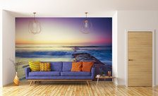 The-clean-voice-of-the-ocean-sunset-wall-murals-demur