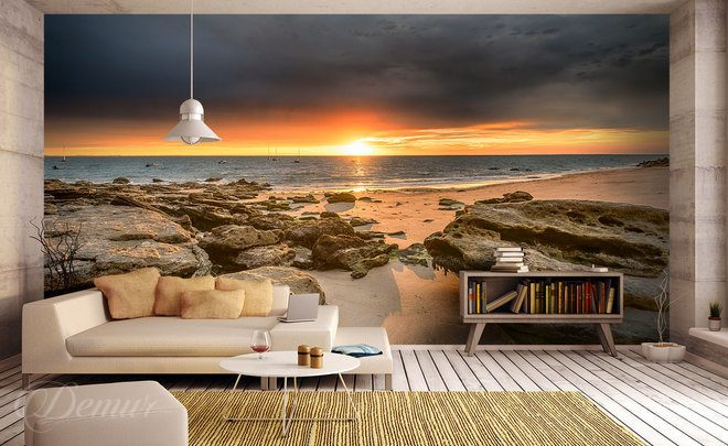 The-time-stopped-in-an-eclipse-sunset-wall-murals-demur