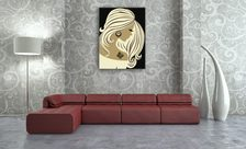 The-profile-of-a-woman-print-living-room-wall-prints-demur